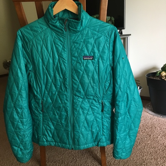 Patagonia Nano Puff Jacket Nanopuff Teal Medium